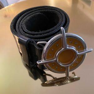 Men's Diesel leather belt